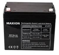 Промышленный Аккумулятор UPS MAXION 12- 70 (12V,70Ah)