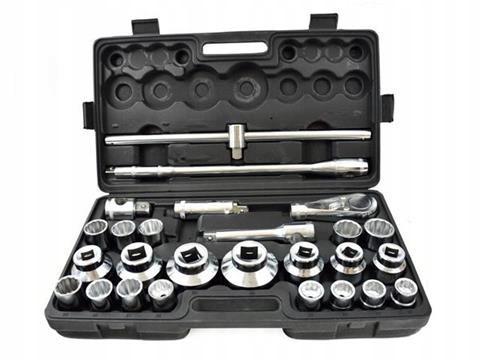 Набор торцевых ключей GEKO g10114 3/4 26 элементов
