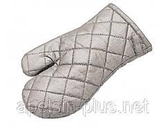 """Рукавицы пекарские защитные """"Maitai"""" 28 см 15 см в наборе из 2 штук"""