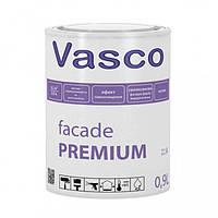 Краска Vasco Facade Premium – 0,9л., силиконованная фасадная краска