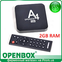 IPTV Android медиаплеер Openbox A4 Lite