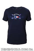 Футболка мужская PAUL & SHARK 19-P1914 тёмно-синяя, фото 1