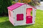 Детский домик 140*108*110см розовый XL Польша, фото 2