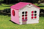 Детский домик 140*108*110см розовый XL Польша, фото 3
