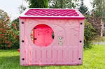 Детский домик 140*108*110см розовый XL Польша, фото 4