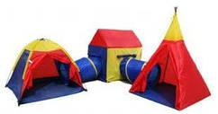 Детская палатка шатер лабиринт IGLO 5 в 1