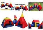 Детская палатка шатер лабиринт IGLO 5 в 1, фото 3