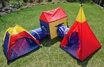 Детская палатка шатер лабиринт IGLO 5 в 1, фото 4