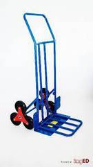 Тележка для склада грузовая до 220 кг Мельница