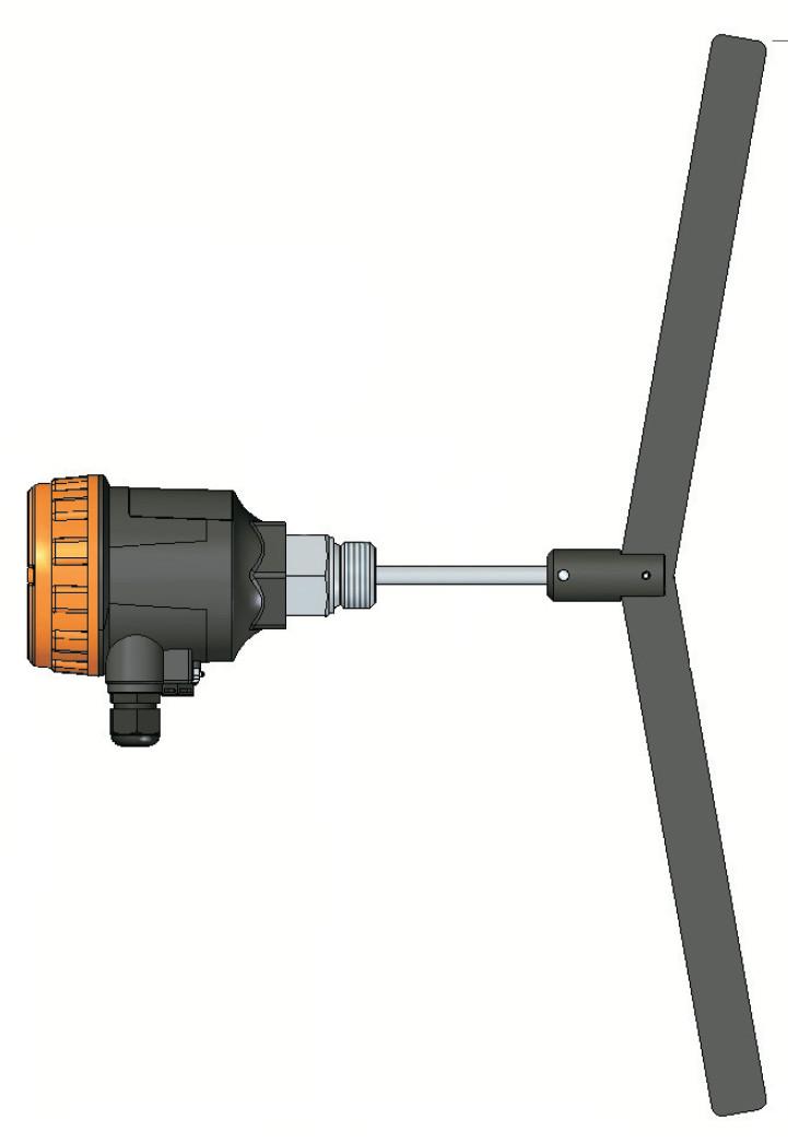 Ротационный сигнализатор реле уровня серии ELF 13p