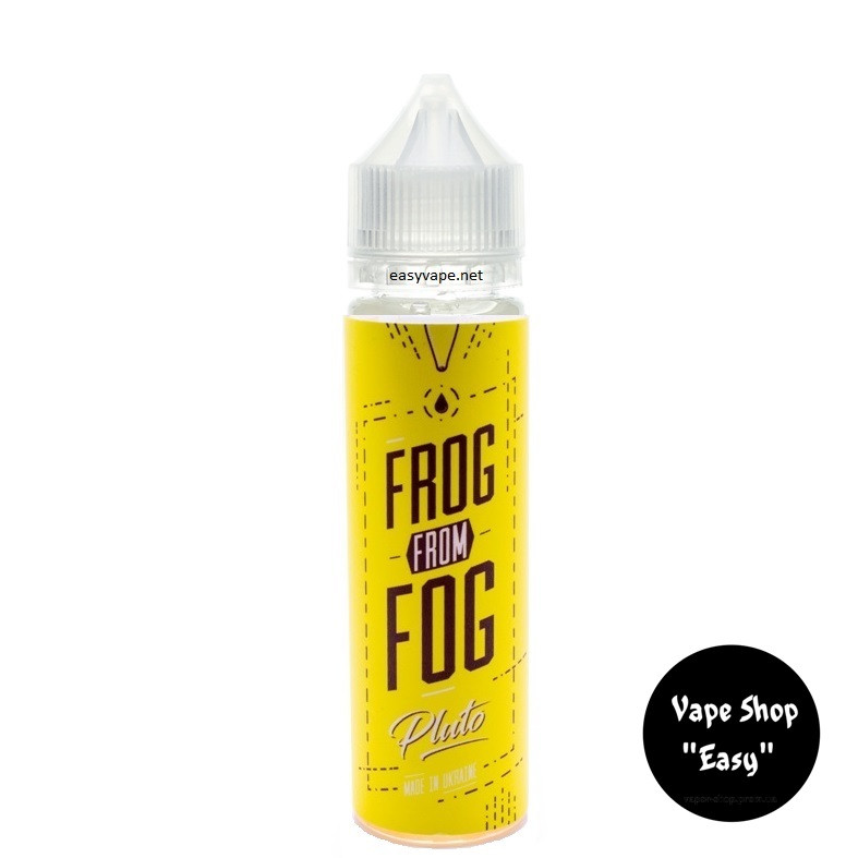 Frog From Fog Pluto 60 ml Премиум жидкость для вейпа.