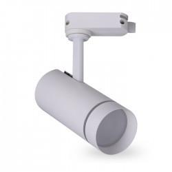 Трековый LED светильник AL106 10W 4000K белый корпус 560lm SMD
