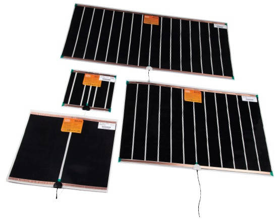 Mirror heating film 15W 274x265 mm, фото 2