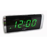 Електронні настільні дротові цифрові годинник VST 730, фото 1