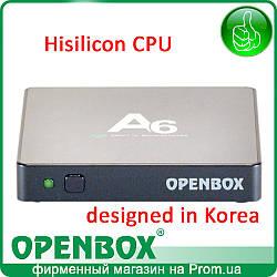 IPTV Android UHD медиаплеер Openbox A6 (черная)