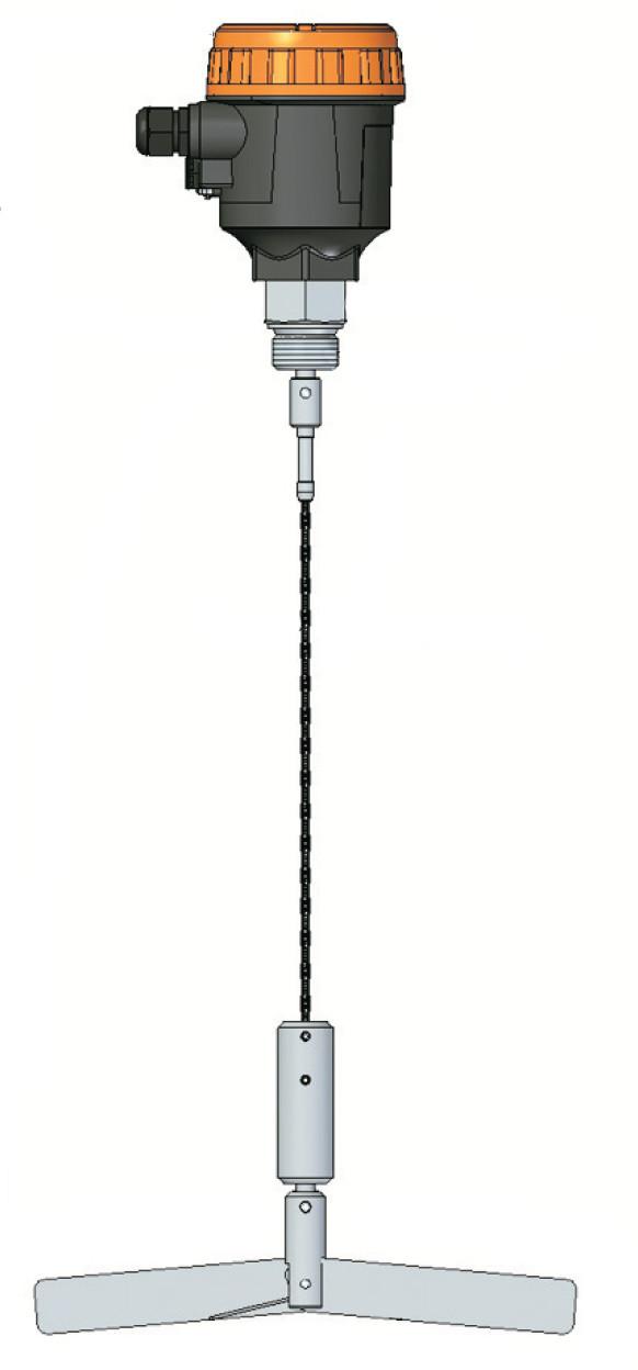 Ротационный сигнализатор реле уровня серии ELF 108