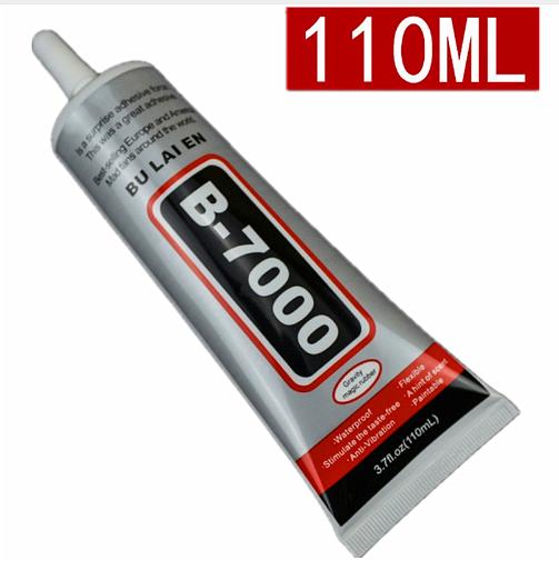 Клей силиконовый B7000 Baojiesi 110мл в тюбике прозрачный