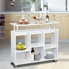 Кухонная тележка барная стойка 100 x 40 x 92cm