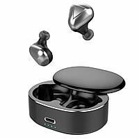 Бездротові навушники Bluetooth 5.0 Alitek T50 TWS Touch Stereo Silver/Black