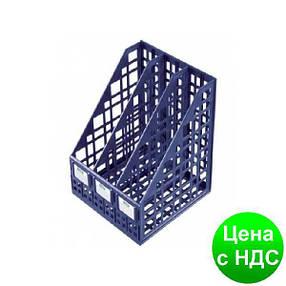 Лоток для бумаги тройной вертикальный сборный пластиковый черный A-Plus А-875 (618), фото 2