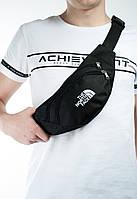 Поясная сумка/сумка на пояс/бананка The North Face, цвет черный, фото 1