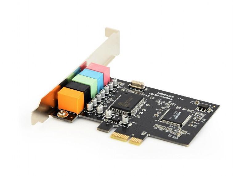 Звуковая карта PCI-E Gembird SC-5.1-4