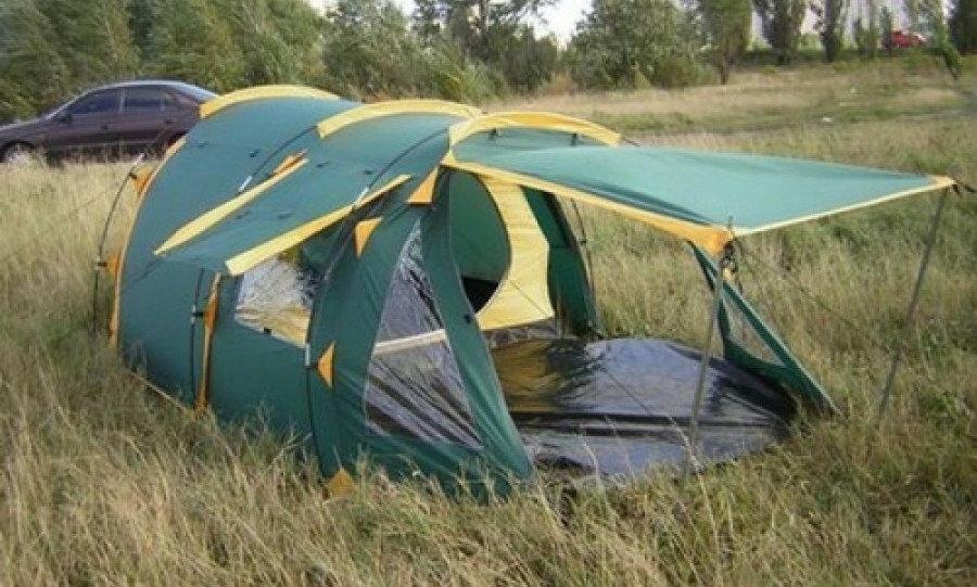 Намет Tramp Octave 3. Палатка туристическая. Намет туристичний