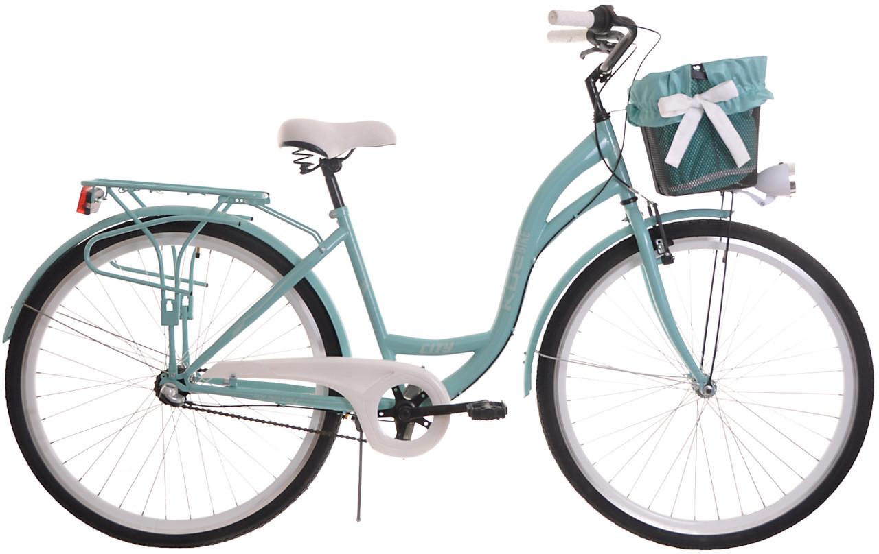 Велосипед женский KOZBIKE 18 28-3 перед.+кош