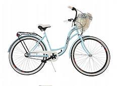 Велосипед женский MATEO DALIA 28-3 перед.+кош retro