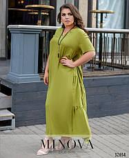 Женское платье летнее, размер:54, фото 3