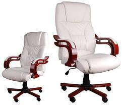 Эксклюзивный белый  офисный стул GIOSEDIOмодельBSL002