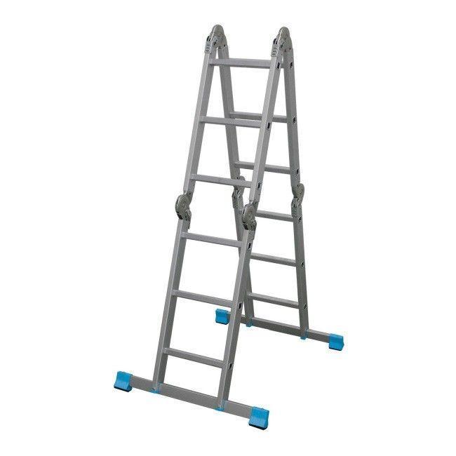 Алюминиевые лестницы MACALLISTER 4 X 3