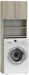 Шкаф для стиральной машины в ванной 183х64х30 см