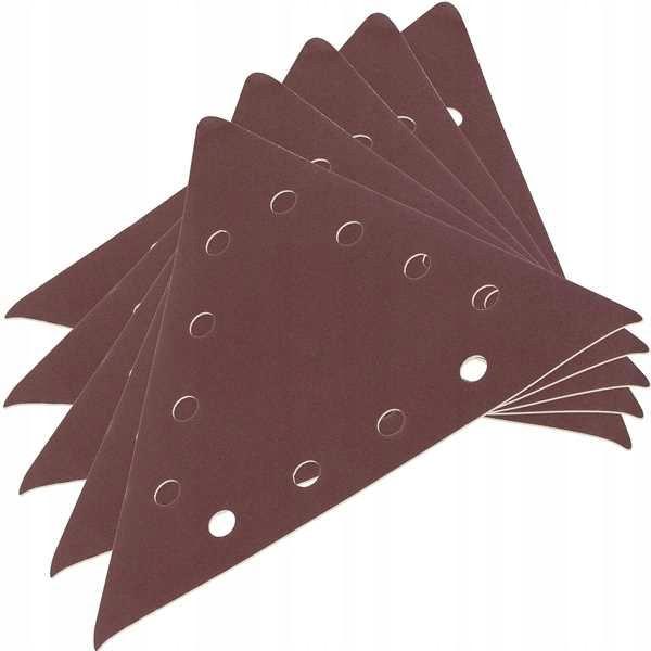 Шлифшкурка треугольная G100 3X285 KREATOR SCHEPPACH /DEDRA 5 шт