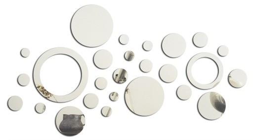 Декоративное зеркало на стену 58 х 103 см