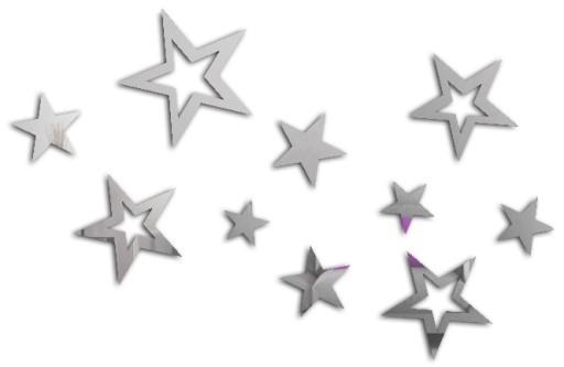 Звездное зеркальное украшение