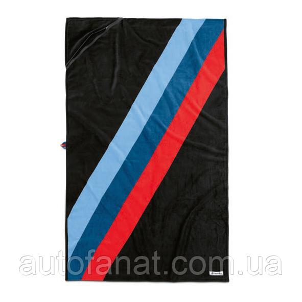 Оригінальне банний рушник BMW M Motorsport Towel, Black/M-Colours (80232461137)