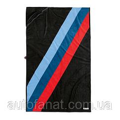 Оригинальное банное полотенце BMW M Motorsport Towel, Black/M-Colours (80232461137)