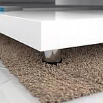 Столик кофейный 60x60 см вращающейся белый, фото 3
