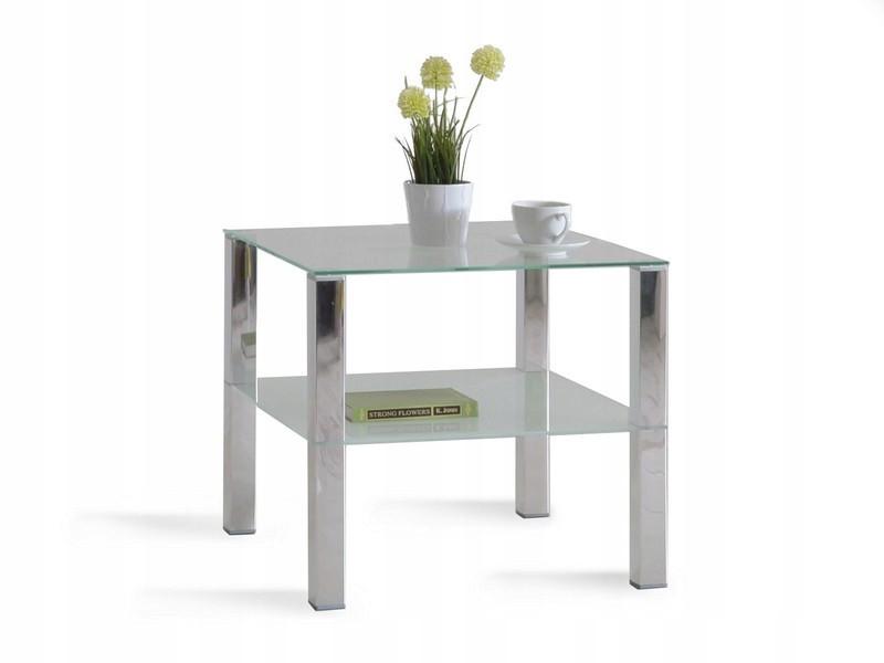 Кофейный столик COLORADO хромированный глянец