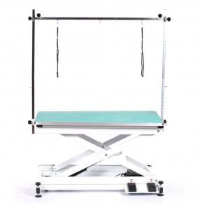 Современный тримерский стол Blovi Moon с электрическим лифтом, зеленый стол 110x60см