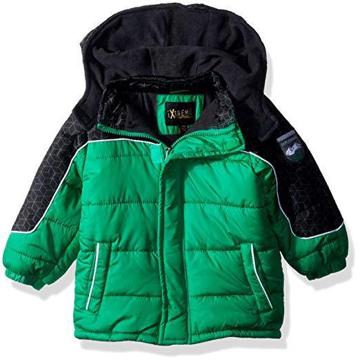 Демисезонная куртка для мальчика iXtreme зеленая