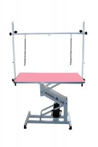 Стол на гидравлическом подъемнике Blovi Venus, розовый стол 110x60см