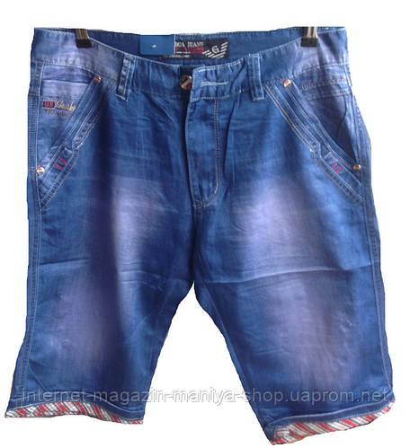 Шорты джинсовые мужские