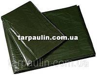 Тент Тарпаулин  100 г/м2 зеленый 10х15 м.
