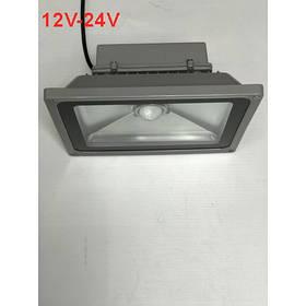 Светодиодный линзованый фитопрожектор SL-50Lens 50W 12-24DC IP65 (full fito spectrum led) Код.59567