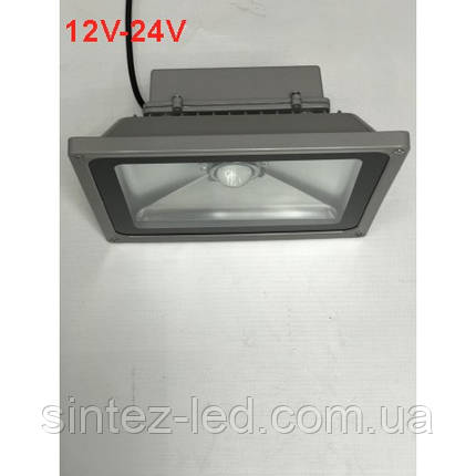 Светодиодный линзованый фитопрожектор SL-50Lens 50W 12-24DC IP65 (full fito spectrum led) Код.59567, фото 2