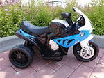 Детский мотоцикл на аккумуляторе BMW S1000RR, фото 8