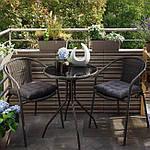 Набор садовой мебели Bari балкон стол +2(4) стула Польша, фото 3