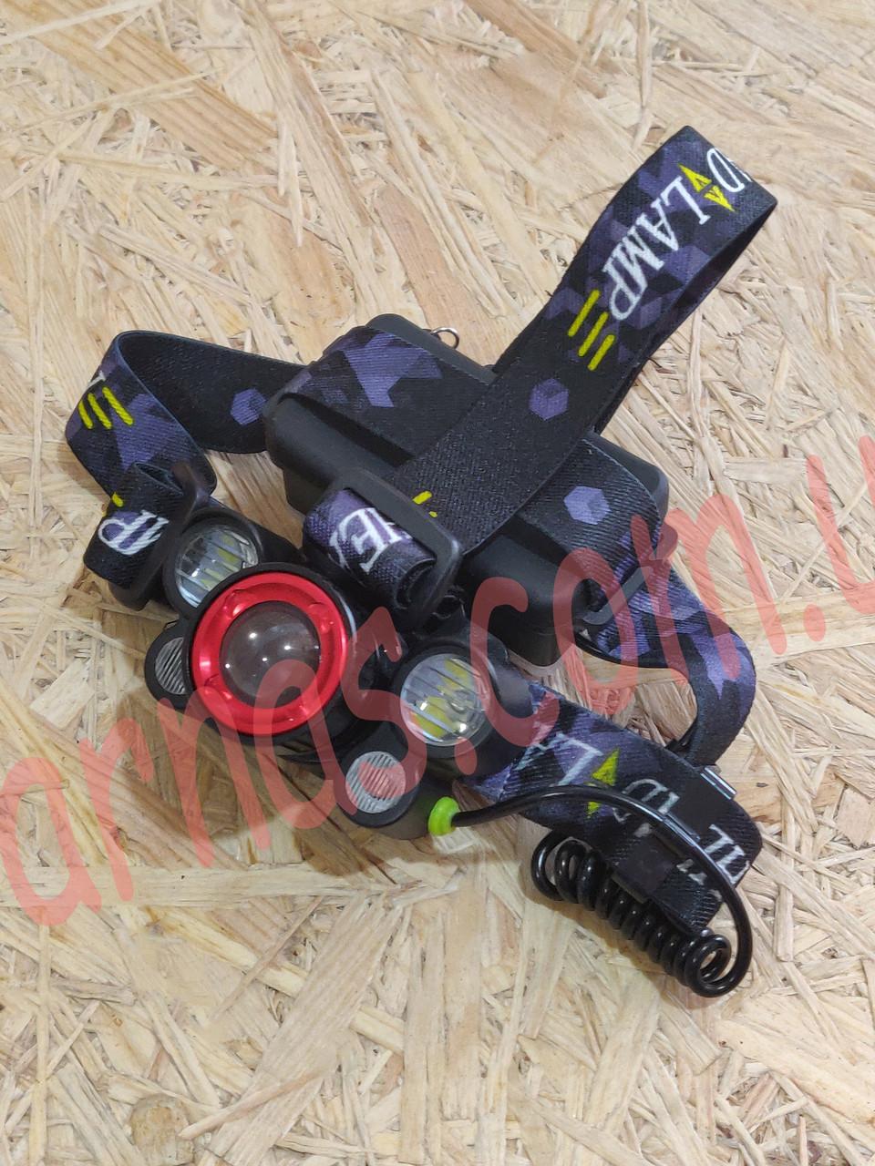 Аккумуляторный налобный фонарь BL-8816